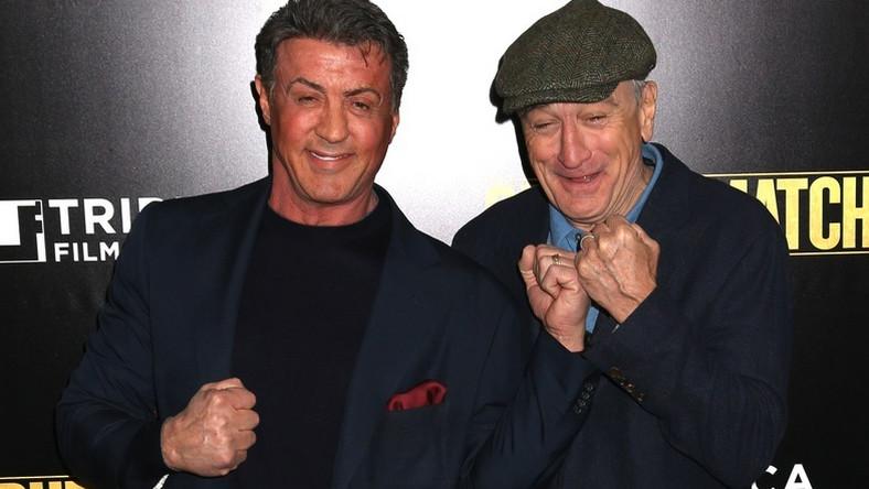 "Sylvester Stallone i Robert De Niro na premierze ""Legend ringu"""
