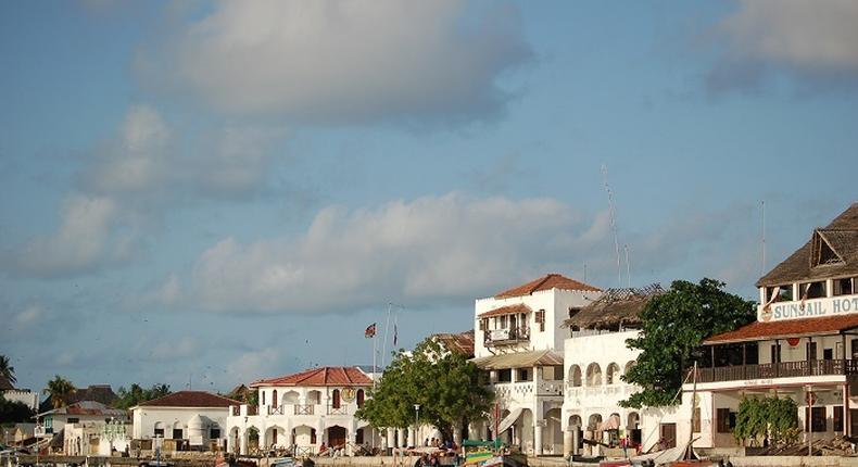 File image of the Lamu County shoreline