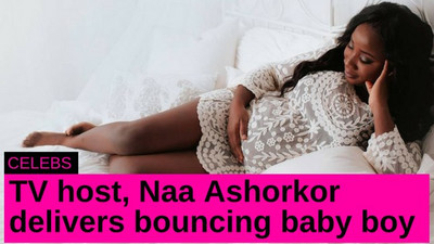 Ghanaian actress and TV host delivers baby boy