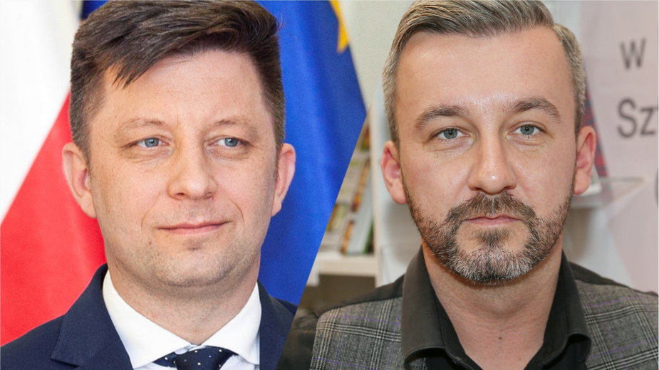 Michał Dworczyk i Krzysztof Skórzyński