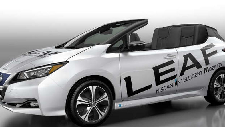 Nissan Leaf Open Top – Leaf w wersji kabrio