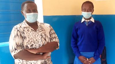 Reprieve for Diana Nyokabi as Lamu Governor pays her school fees