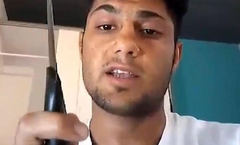 17-letni zamachowiec mówi o ataku