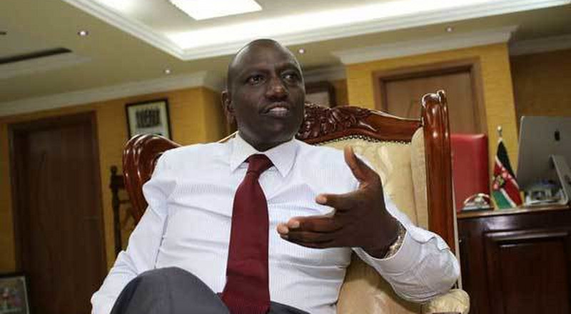 They are crooks, not Uhuru's men – DP Ruto on the ongoing wrangles in Jubilee Party