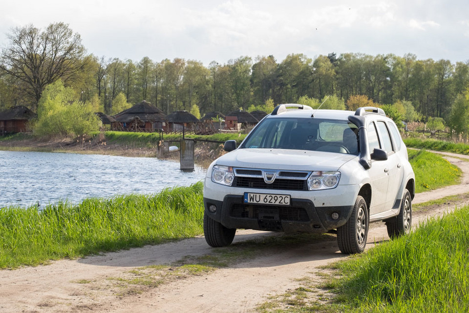 Test elektroniki Dacii Duster