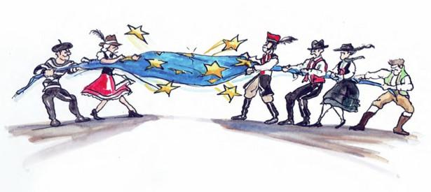 """Napięcia dyplomatyczne między Europą Zachodnią i Wschodnią sięgnęły zenitu w 2017 roku w kwestiach dotyczących zagranicznych pracowników, kwot migracyjnych i wartości demokratycznych. W 2018 roku napięcia jeszcze się nasilą. Ambitny francuski lider, Emmanuel Macron, który już teraz planuje kandydować na fotel prezydenta Europy, przekonuje Niemcy i osłabioną kanclerz Angelę Merkel oraz trzy kraje Beneluksu do dalszej integracji i stworzenia wspólnego skarbu i budżetu obronnego. Przeciwstawiający się dalszej integracji przywódcy państw Europy Środkowo-Wschodniej obawiają się, że takie posunięcie znacznie ograniczy ich wpływy polityczne w UE. Nowy austriacki kanclerz, który z powodzeniem utworzył rząd koalicyjny ÖVP-FPÖ, nawiązując do historii Cesarstwa Austro-Węgierskiego, postanawia przyłączyć się do Grupy Wyszehradzkiej, która zrzesza czterech najbardziej europesymistycznych członków UE (poza opuszczającą unię Wielką Brytanią). Zbliża się on do węgierskiego premiera populisty Viktora Orbana w kwestiach gospodarczych i migracyjnych, co skutkuje francusko-niemieckim bojkotem dyplomatycznym Austrii. Napięcie sięga zenitu, gdy Komisja Europejska, wezwana przez Francję, Belgię i Niemcy, rozpoczyna procedurę z art. 7 przeciwko Polsce za brak poszanowania dla rządów prawa. Szukając przeciwwagi dla francusko-niemieckiego tandemu przewodzącemu """"głównej Unii Europejskiej"""", Austria i Grupa Wyszehradzka lobbują, aby Unia dokonała zwrotu w kierunku prostymulującym i antyimigracyjnym. Temu obozowi udaje się skutecznie zgromadzić grupę 13 państw UE, w tym Włochy (po raz kolejny pod przewodnictwem Silvio Berlusconiego) i Słowenię, aby stworzyć mniejszość blokującą posiedzenie Rady Europejskiej. Po raz pierwszy od 1951 r. polityczny punkt ciężkości Europy zmienia się z francusko-niemieckiego na Europę Środkowo-Wschodnią. Blokada instytucjonalna UE szybko zaczyna niepokoić rynki finansowe. Po gwałtownym wzroście wartości euro wobec walut G10 i walut rynków wschodzących do końca 2018 """