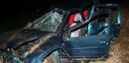 Pijak roztrzaskał auto z dziećmi. 6 osób rannych!