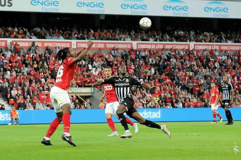 Victor Oshimen has scored nine goals since he joined Charleroi