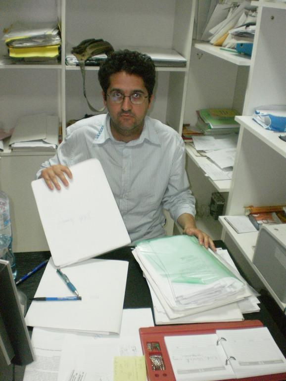 Slobodan Stankov, koordinator Službe za besplatnu pravnu pomoć