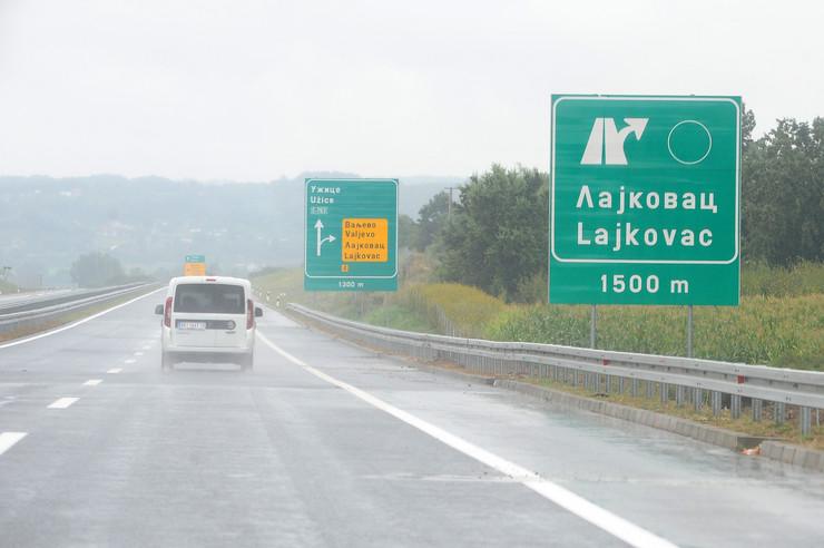 Auto-put Obrenovac - Čačak