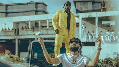 Phyno and Peruzzi toasts to the good life 'For The Money'