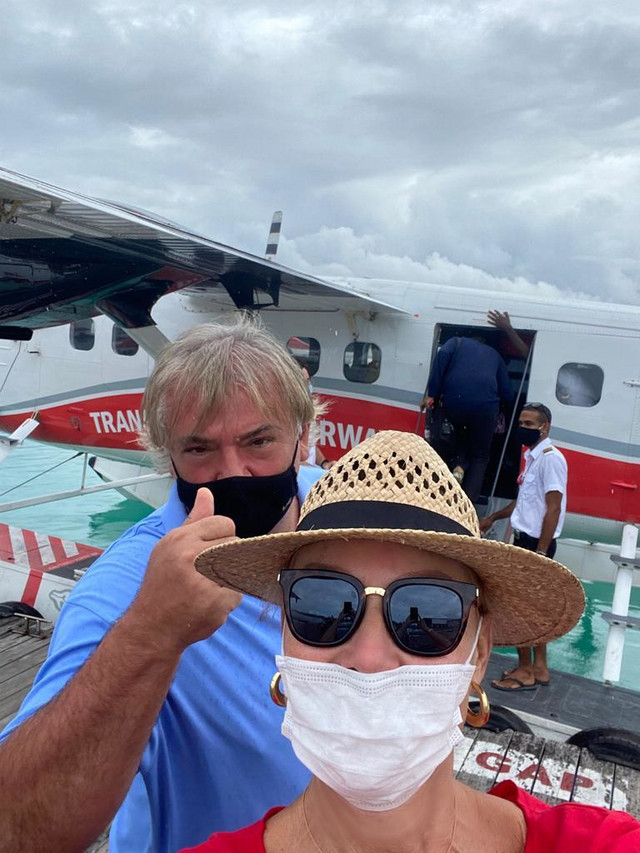 Brena i Boba na Maldivima