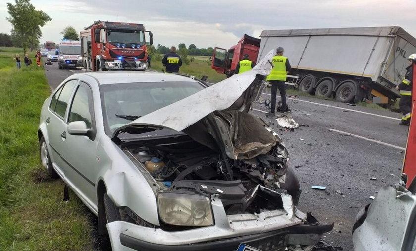 Śmiertelny wypadek pod Bełchatowem.