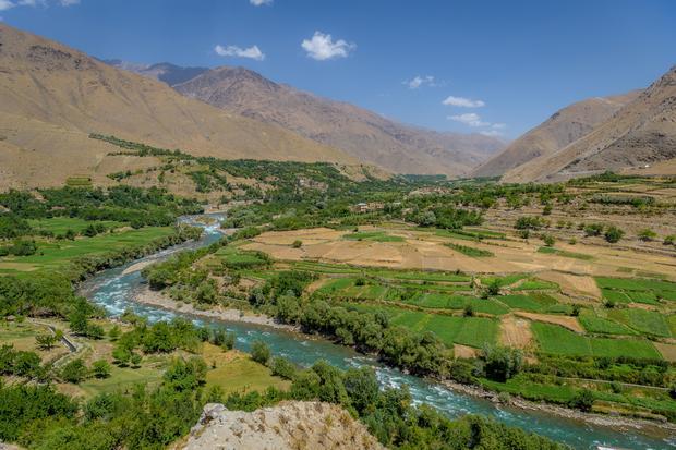 Dolina Panjshir, Afganistan
