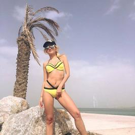 Klaudia Wiśniowska na wakacjach w Dubaju. Ale figura!