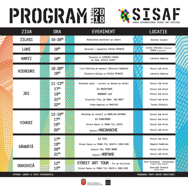 Program SISAF 2018