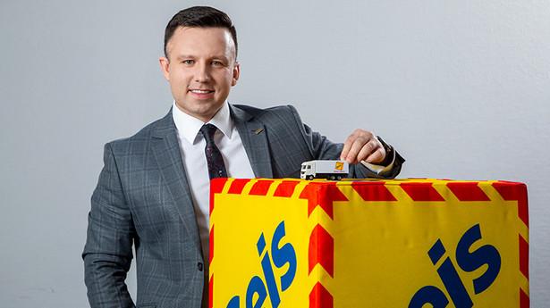 Mariusz Kazimierczak, dyrektor sprzedaży Geis PL
