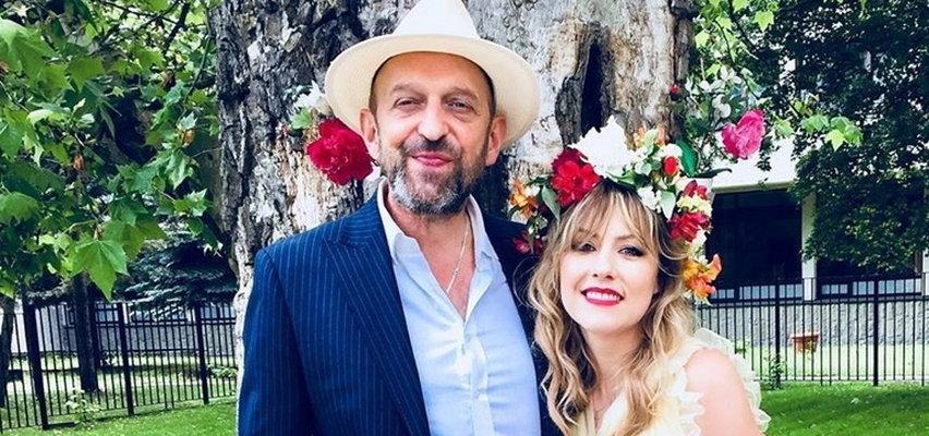 Agata Wątróbska i Janusz Chabior świętują. Rok temu stanęli na ślubnym kobiercu