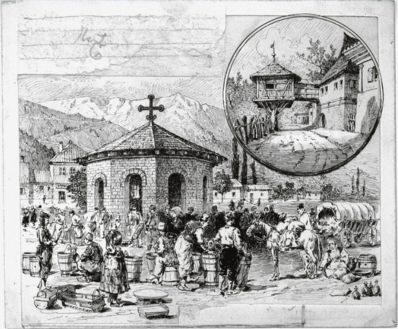 Crtež konaka u Užicu