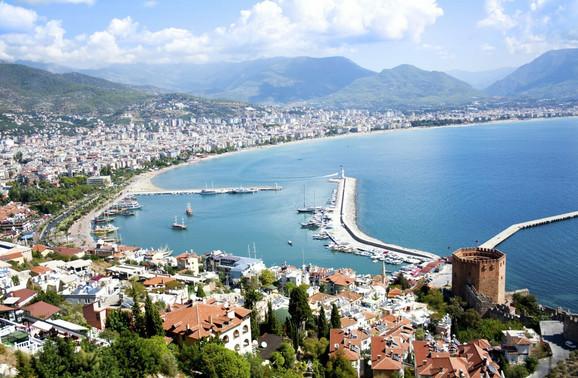 Antalija je među omiljenim destinacijama Srba