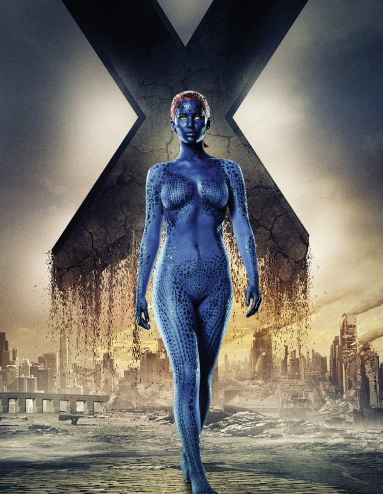 Mystique (Rebecca Romijn/Jennifer Lawrence)