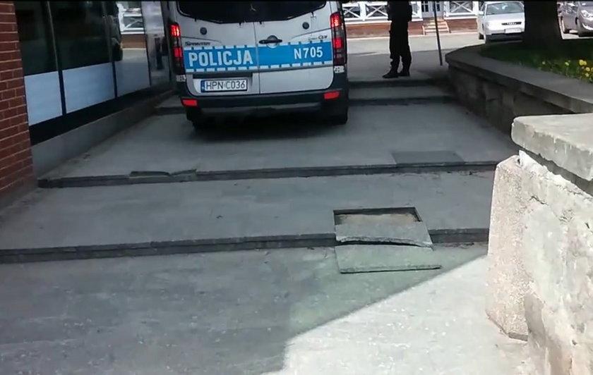 Głupota gdańskich policjantów?