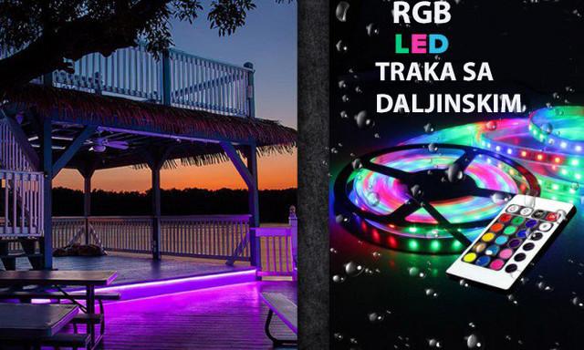 Šarena RGB Led traka