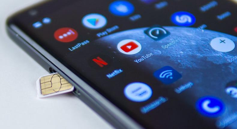 The new sim card policy says Nigerians can not have more than three sim cards