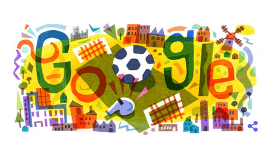 Google Doodle na Euro 2020