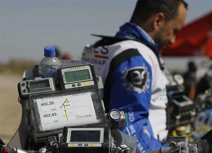 Motocyklista Bruno da Costa miał poważny wypadek na trasie Rajdu Dakar