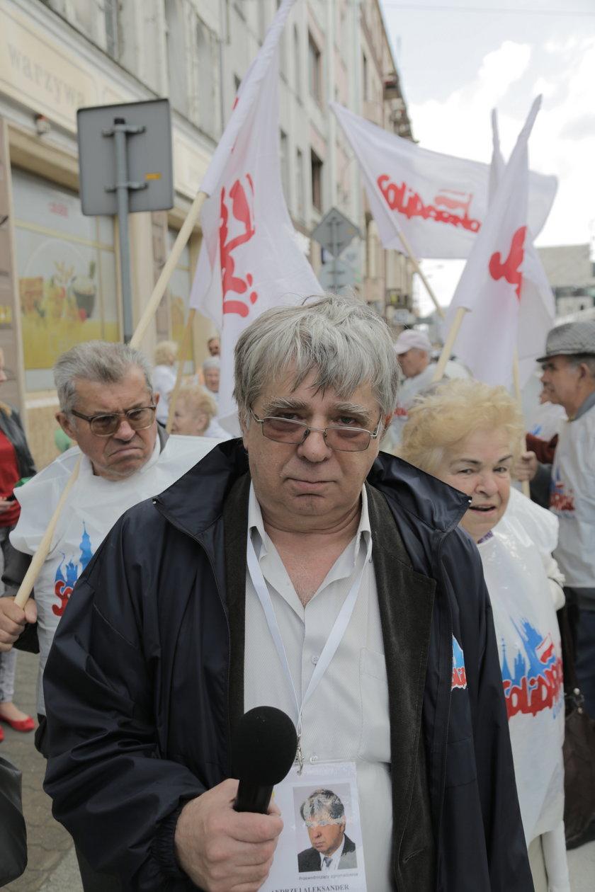 """Andrzej Kowalski, przewodniczący sekcji emerytów NSZZ """"Solidarność"""""""