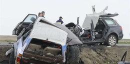 Tragiczny wypadek. Zginęły 4 osoby. ZDJĘCIA