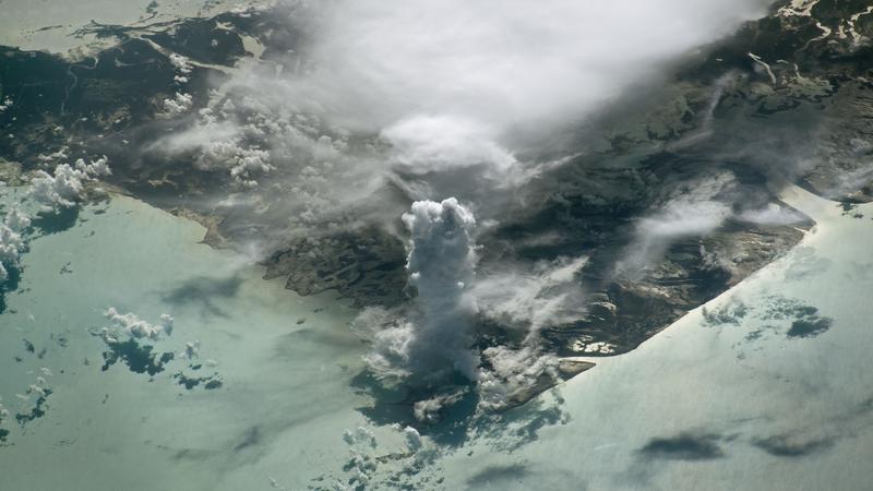 Kłęby chmur przybrały wyjątkowy kształt