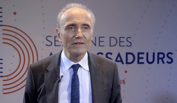Žan Luj Falkoni, Francuska, Ambasador