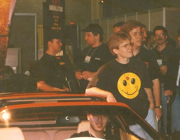 "Dennis ""Thresh"" fong, Ferrari  i John Carmack Fot. Heresy22/Creative Commons"