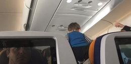 Demoniczny krzyk dziecka zmienił 8-godzinny lot w horror