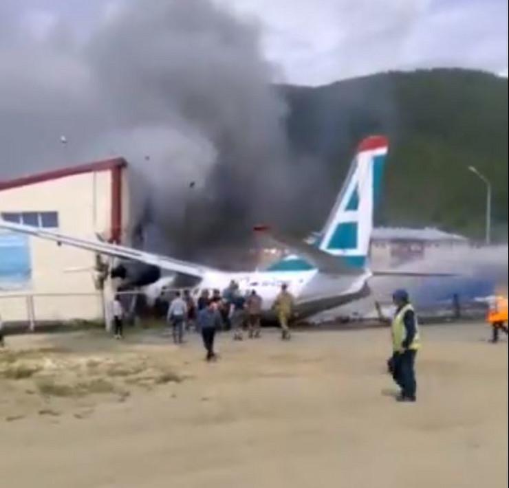 Rusija avion nesreća