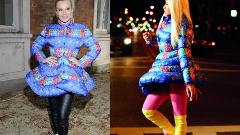 Nasza gwiazda, czy światowej sławy raperka - która wygląda lepiej w płaszczu z kolekcji adidas Originals by Jeremy Scott?
