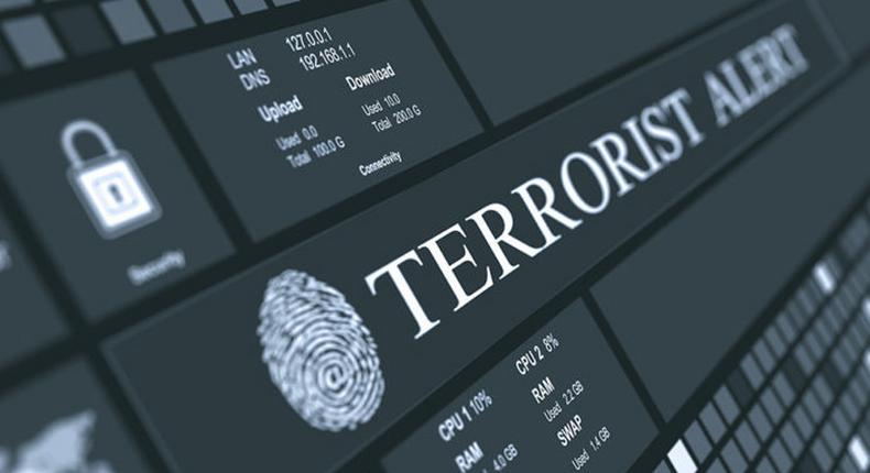 Alert on terrorist attack issued