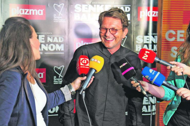 Sarajevo film festival. Senke nad Balkanom, premijera, Dragan Bjelogrlić
