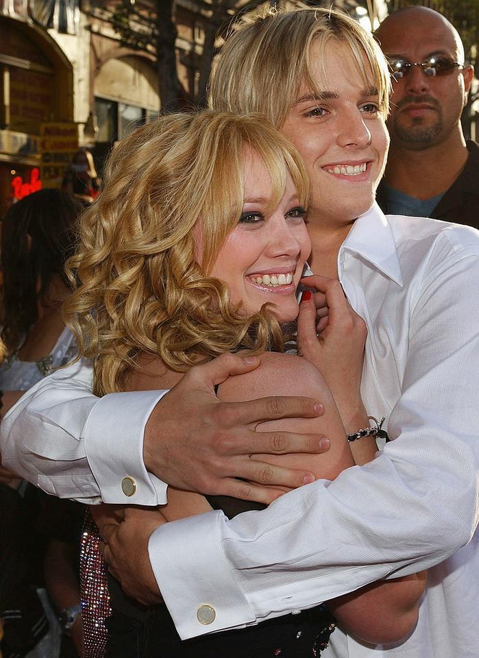 8. Hilary Duff i Aaron Carter