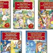 Dvojezične bajke sa CD-om – kompleti po ceni jedne knjige!