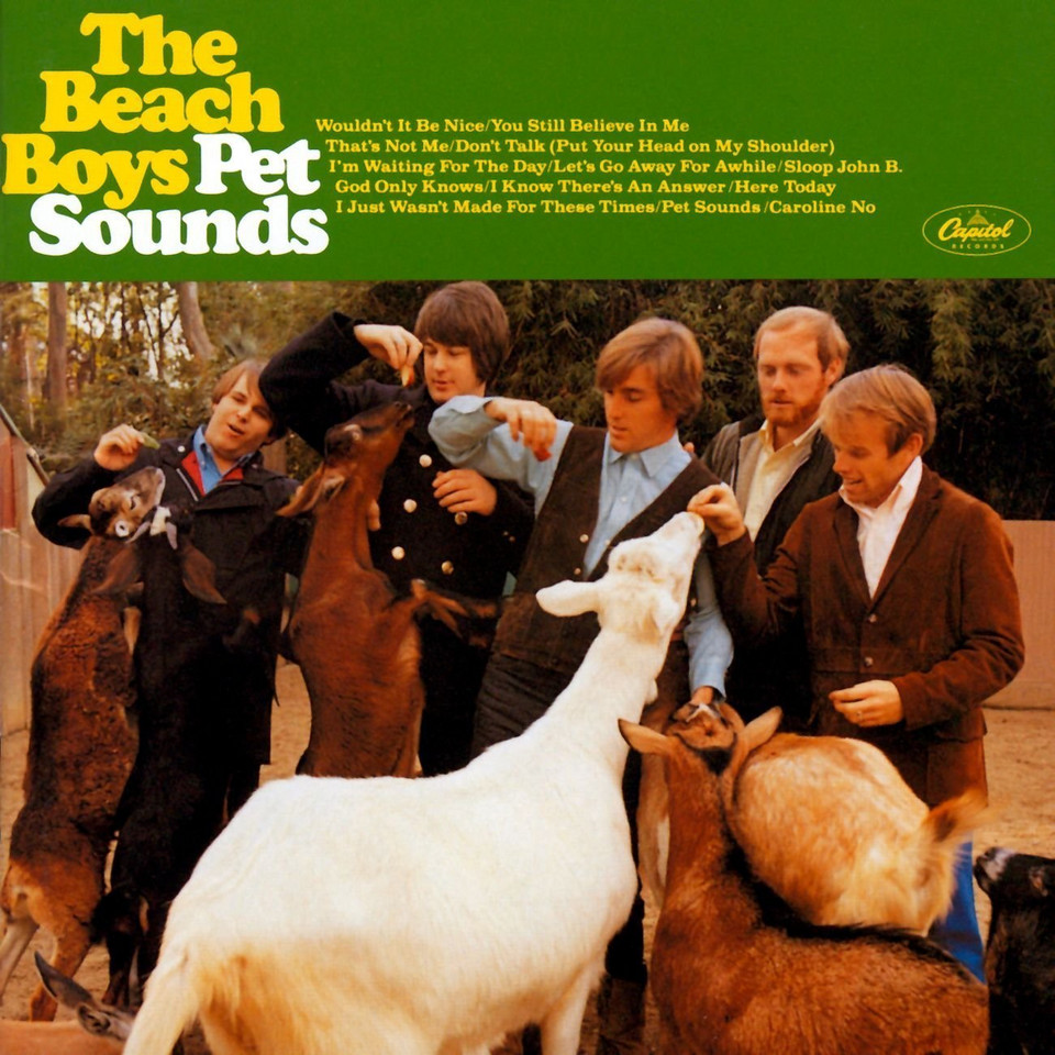 "2. The Beach Boys - ""Pet Sounds"""