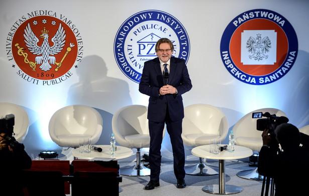 Sekretarz stanu w ministerstwie zdrowia Jarosław Pinkas