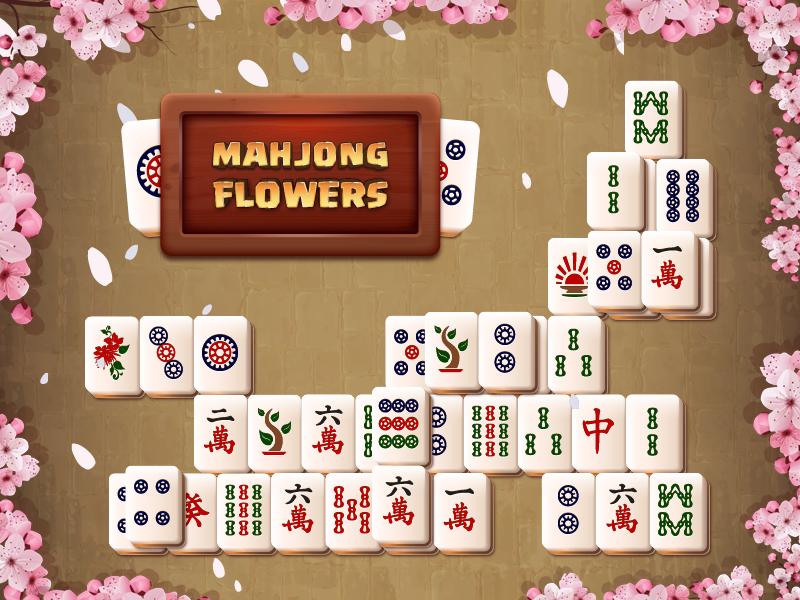 gameplanet Mahjong Flowers