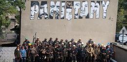 Francuski artysta namalował górników z Wujka