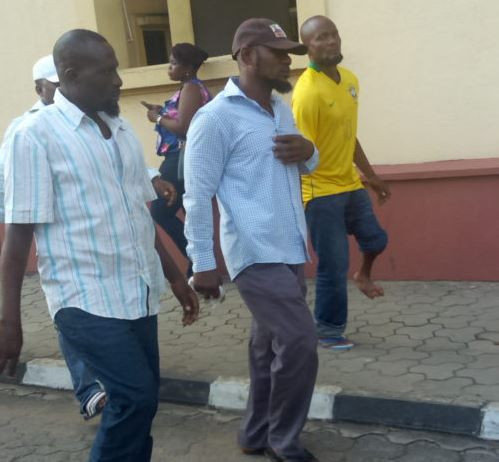 Saheed Arogundade, NURTW Chairman, who was sentenced to death. (Linda Ikeji's Blog)