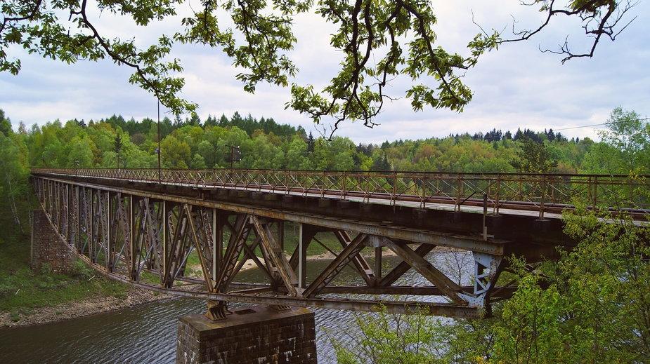 Most kolejowy w Pilchowicach (aut. Anna Straszyńska)
