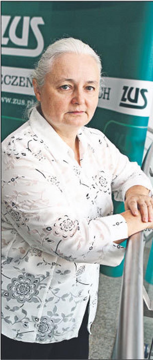 Anna Staszyńska, zastępca dyrektora w departamencie realizacji dochodów w Centrali ZUS Fot. Wojciech Górski