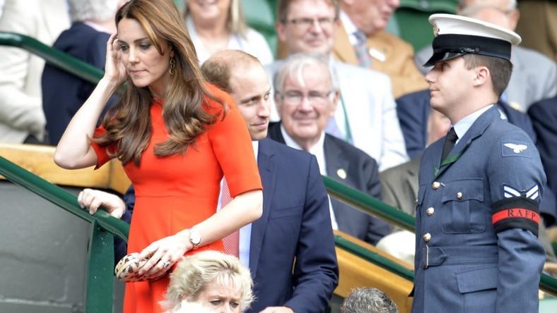 Książęca para pojawiła się wczoraj na meczu Andy'ego Murraya. Jego przeciwnikiem był Vasek Pospisil.